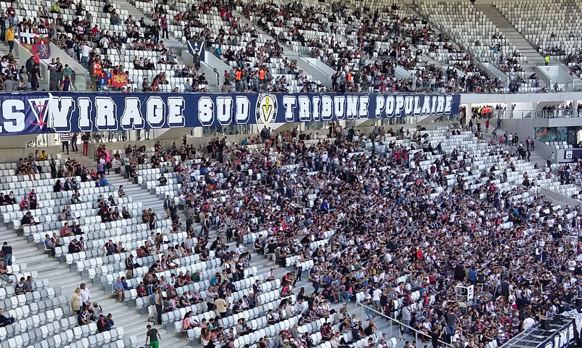 stade matmut atlantique girondins de bordeaux supporters